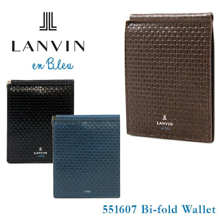 ランバンオンブルー 財布 551607 エスパス LANVIN en Bleu 【 ランバンオンブルー 】【 二つ折り 財布 札ばさみ マネークリップ メンズ 】[bef][即日発送]