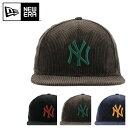 ニューエラ キャップ 59FIFTY コーデュロイ ニューヨークヤンキース メンズ レディース NEW ERA | 帽子 [PO2][bef][即…