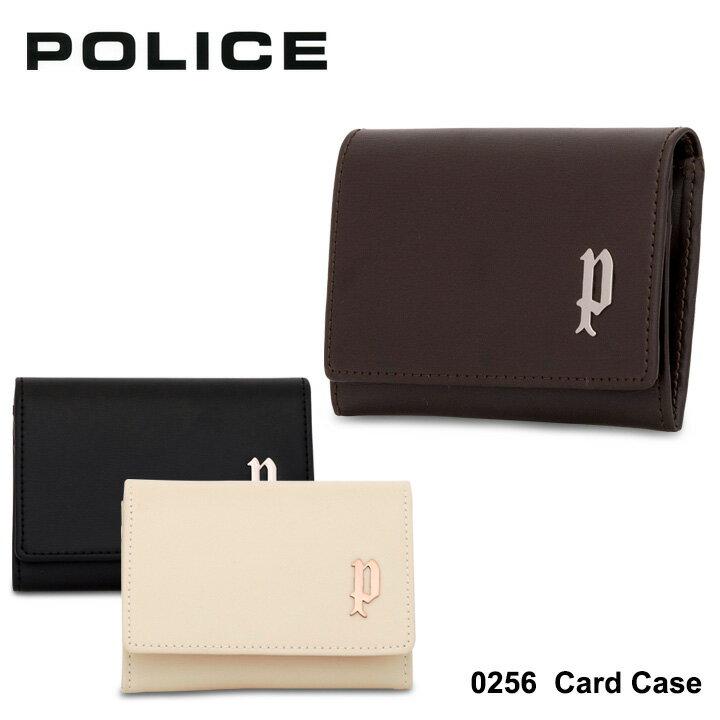 ポリス POLICE カードケース 0256 【 SEMPLICE センブリチェ 】【 メンズ 名刺入れ レザー 】