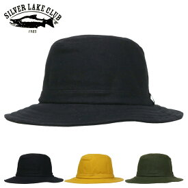 シルバーレイククラブ サファリハット 日本製 9号帆布 メンズ レディース SILVER LAKE CLUB   帽子 防水性 通気性 当社限定 別注モデル [PO10][bef][即日発送]
