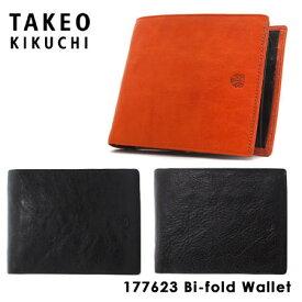 タケオキクチ 財布 177623 TAKEO KIKUCHI 【 二つ折り財布 メンズ 】【 アルド 】【キクチタケオ】[bef][PO5][即日発送]
