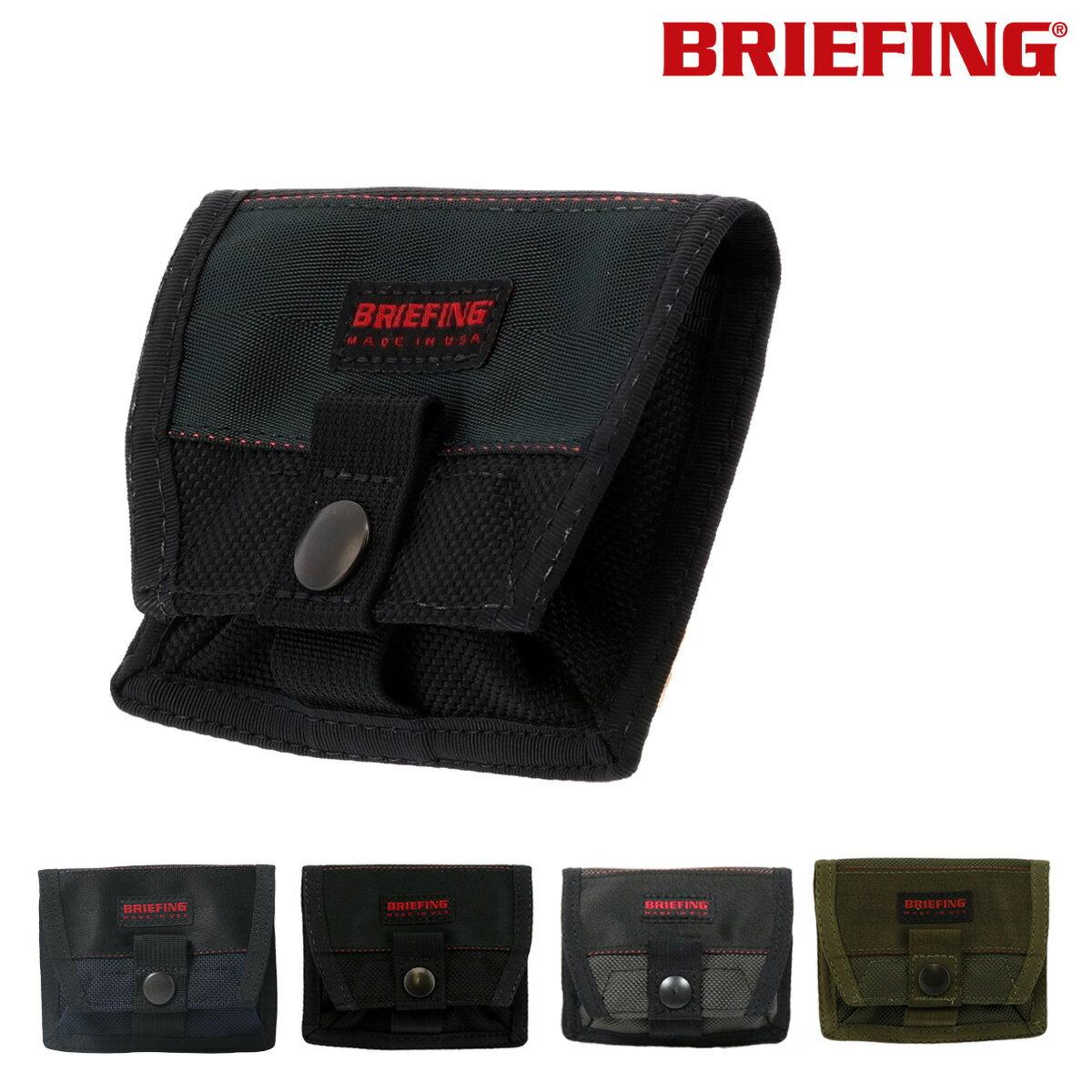 ブリーフィング カードホルダー USA BRM181603 BRIEFING CARD HOLDER 名刺入れ カード入れ カードケース バリスティックナイロン メンズ[PO10][bef][即日発送]