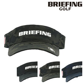 ブリーフィング ゴルフ サンバイザー サイズ調整可能 メンズ BRG201M48 BRIEFING MS CAMO VISOR 帽子[PO10][即日発送][bef]