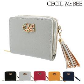 セシルマクビー 二つ折り財布 シェパーズ レディース66041 CECIL McBEE | ブランド専用BOX付き [PO5][bef]