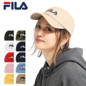 キャップ メンズ レディース フィラ 185713520|帽子 ローキャップ サイズ調整可能 FILA [bef][即日発送]