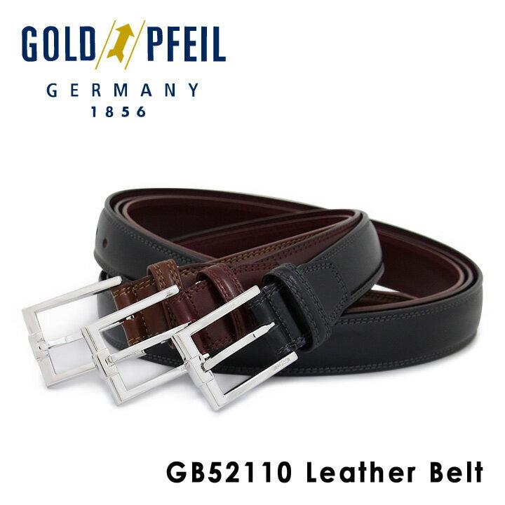 ゴールドファイル GOLDPFEIL ベルト GB52110 【 レザー メンズ 】[PO10][bef]