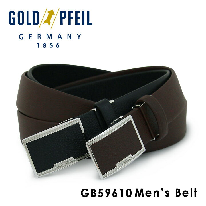 ゴールドファイル GOLDPFEIL ベルト GB59610 【 レザー メンズ 】