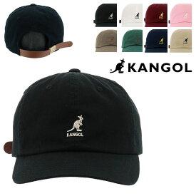 カンゴール キャップ 100169220 100169212 KANGOL 帽子 ローキャップ ミニロゴ コットン レディース メンズ [bef][即日発送]