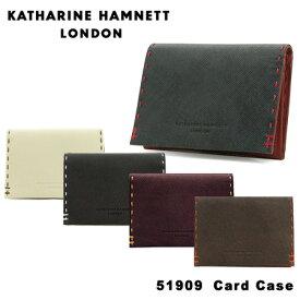 キャサリン ハムネット 名刺入れ 490-51909 KATHARINE HAMNETT カラーテーラード 定期入れ パスケース [PO10][bef]