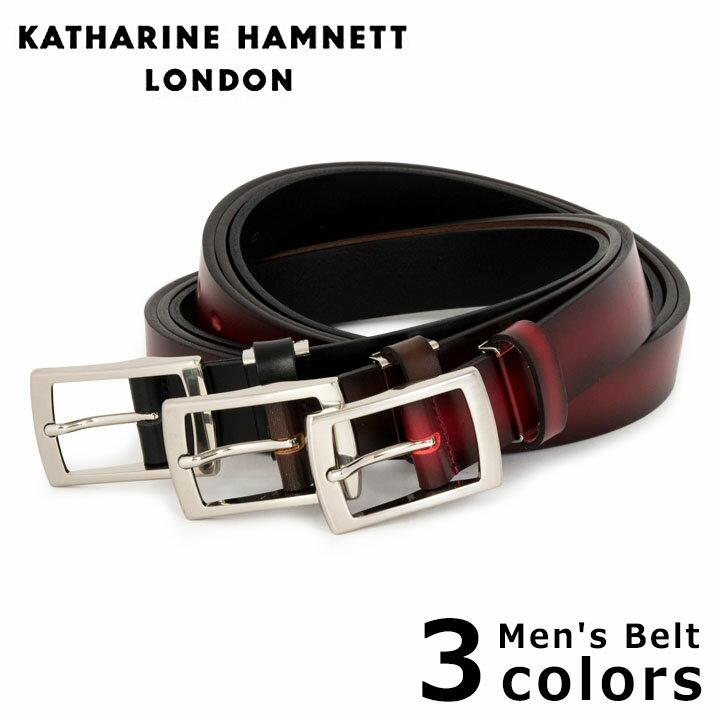 キャサリンハムネット KATHARINE HAMNETT ベルト KH-506025 【 メンズ レザー 】[PO10][bef][即日発送]