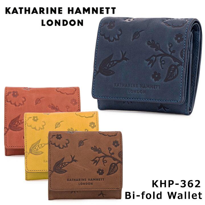 キャサリンハムネット KATHARINE HAMNETT 二つ折り財布 KHP-362 【 ウォッシュ 】【 札入れ メンズ レディース レザー 財布 】[PO10][bef]
