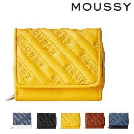 マウジー 三つ折り財布 ミニ財布 キルティング レディース M01200011 MOUSSY[bef]