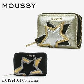 マウジー MOUSSY コインケース m01974104 ラウンドファスナー 財布 レディース [PO10][bef]