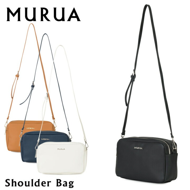 MURUA ショルダーバッグ レディース ベーシック MR-B483 ムルーア[PO5][bef][即日発送]