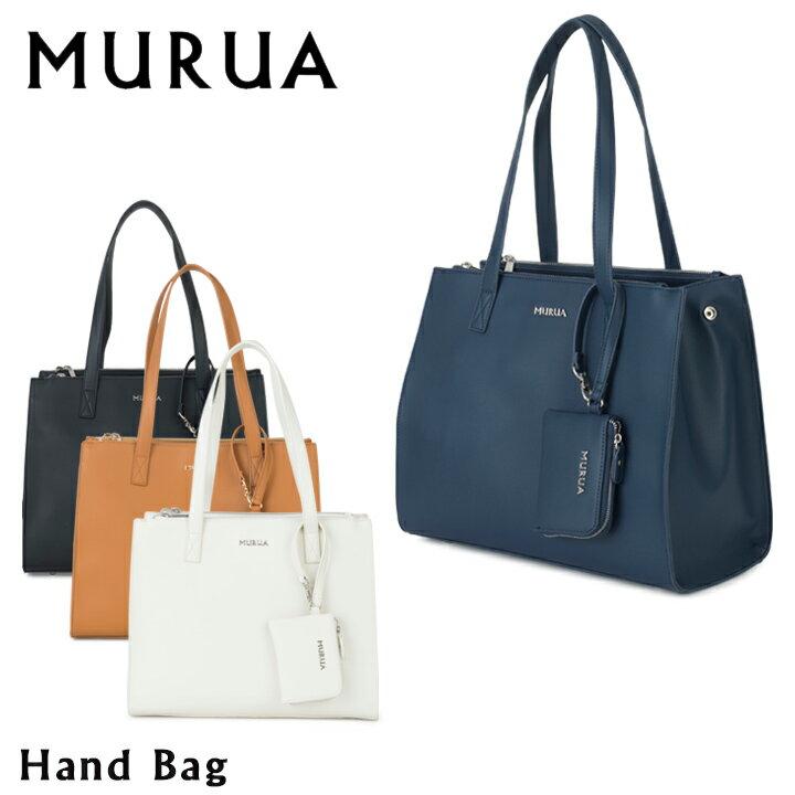 MURUA ハンドバッグ レディース ベーシック パスケース付き MR-B484 ムルーア【PO5】【bef】