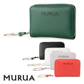 ムルーア MURUA 二つ折り財布 MR-W573 ロゴパンチング 札入れ 小銭入れ レディース [PO5][bef]