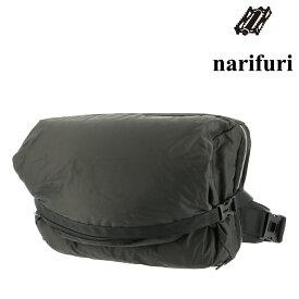 ナリフリ ショルダーバッグ B4 メンズ NF8008 日本製 narifuri | PC収納 斜めがけ メッセンジャーバッグ メットイン 防水[PO10]