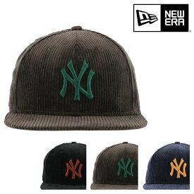 ニューエラ キャップ 59FIFTY コーデュロイ ニューヨークヤンキース メンズ レディース NEW ERA | 帽子[bef][即日発送]