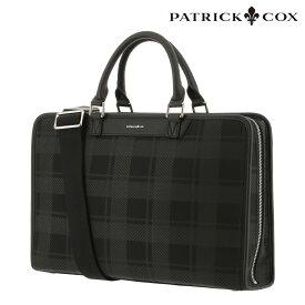 パトリックコックス ビジネスバッグ A4 メンズ PXMH0BV2 PATRICK COX | ブリーフケース ショルダーベルト