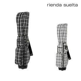 リエンダ スエルタ キャディーバッグ レディース ツイードチェック RS-91010001 rienda suelta ゴルフバッグ[bef][PO5]