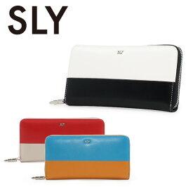 スライ SLY 長財布 s09806205 Color Brocking(SLG) 札入れ 束入れ 財布 ラウンドファスナー レディース [PO5][bef]