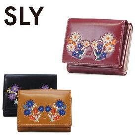 スライ SLY 三つ折り財布 s09912206 レディース 刺繍 花柄 ミニ財布 極小財布 [PO10][bef]