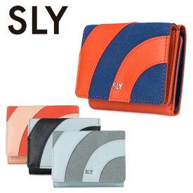 スライ SLY ミニ財布 レディース ブランド s09917205 PATCHWORK 三つ折り財布 小銭入れ パッチワーク 極小財布 [PO10][bef]