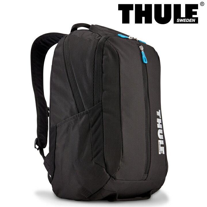 THULE スーリー バックパック TCBP-317 ブラック 【 Crossover 25L Backpack 】【 リュック デイパック バッグ 15インチノートパソコン収納 】 【 リュックサック 】[PO10][bef][即日発送]
