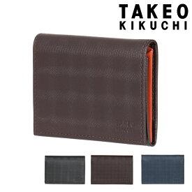 タケオキクチ 名刺入れ シェパード メンズ 784603 TAKEO KIKUCHI | カードケース 薄型 牛革 本革 レザー [PO5][bef]
