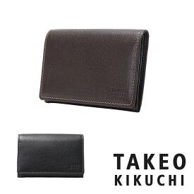 タケオキクチ カードケース メンズ 日本製 オイルヌメ 6090118 TAKEO KIKUCHI 名刺入れ 牛革 本革 レザー[bef][PO5][即日発送]