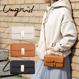 アングリッド ショルダーバッグ レディース UNG-50540 Ungrid | マルチケース ポシェット [PO5]