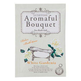 Aromaful Bouquet(アロマフルブーケ) バスソルト【ホワイトガーデニア】