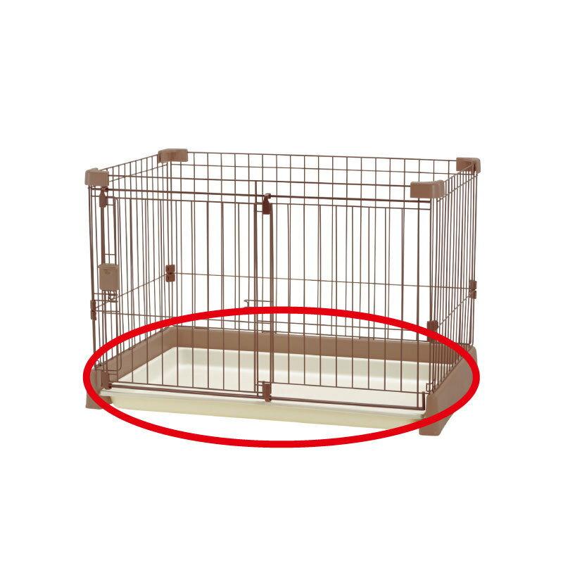 お掃除簡単サークル 90-60用トレーあす楽 リッチェル Richell ペット用品 部品 ペットグッズ ケージ ゲージ トレイ ドッグ いぬ キャット ねこ 取り替え用 超小型・小型犬 8kgまで