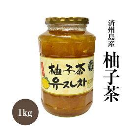 柚子茶 1kg 済州島産 韓国食品 韓国料理 韓国 韓国茶 【李朝園】