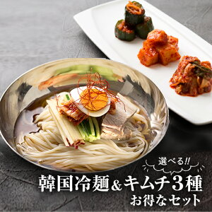 初回限定 冷麺 キムチ セット 【李朝園】
