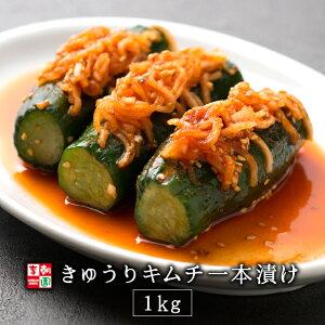 きゅうりキムチ オイキムチ オイソバギ 一本漬け 国産 1kg 韓国食品 韓国料理 韓国 【李朝園】
