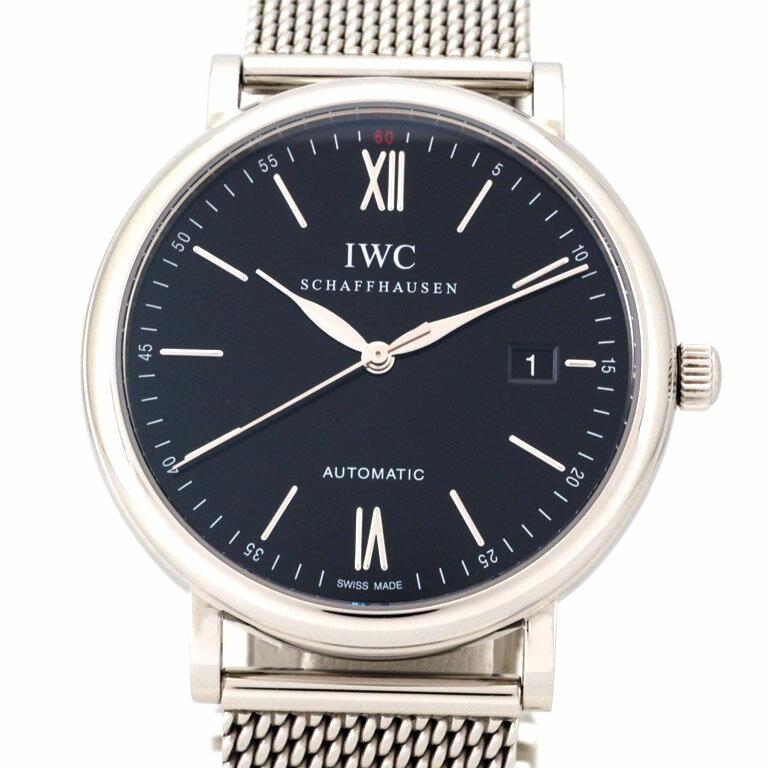 IWC ポートフィノ IW356506  SS オートマ  【リッチタイム】【中古】