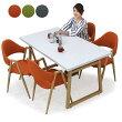 ダイニングテーブルセット5点4人掛け120×80120テーブル長方形角テーブルノックダウンシンプル北欧ナチュラルモダン木製無垢送料無料