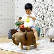 ゾウぬいぐるみ可愛い乗り物おもちゃ子供象幅35高さ36スツールグレー子供部屋動物楽天送料無料