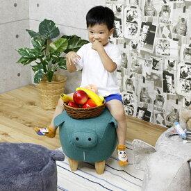 ブタ ぬいぐるみ 可愛い 乗り物 おもちゃ 子供 幅35 高さ36 スツール 豚 ピンク グレー 子供部屋 動物 楽天 送料無料