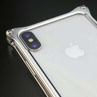iPhoneXアルミバンパー耐衝撃ケースソリッドバンパーギルドデザインGILDdesignバンパーアルミケーススマホケース日本製SolidbumperforiPhoneXアイフォンX