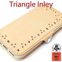 -EFGS-トライアングルインレイ手帳型ケース【TPU】