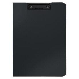 クリップファイル ソフィット(A4判タテ型) ブラック [CB-875-D]