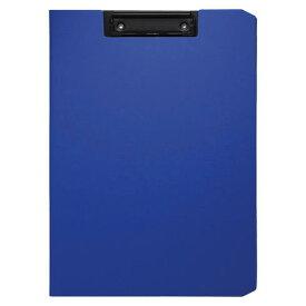 クリップファイル ソフィット(A4判タテ型) ブルー [CB-875-B]