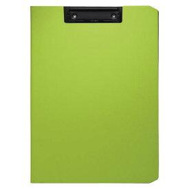 クリップファイル ソフィット(A4判タテ型) グリーン [CB-875-G]