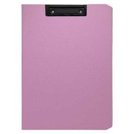 クリップファイル ソフィット(A4判タテ型) ピンク [CB-875-P]