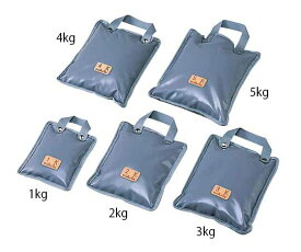 砂袋 手提式3kg (290×220mm)グレー