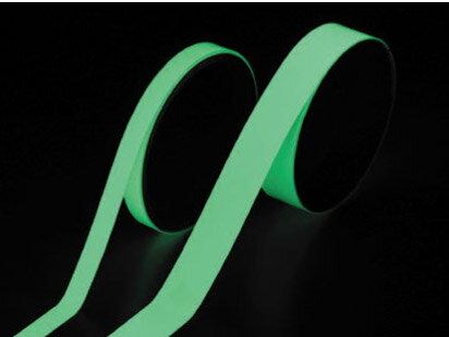 高輝度蓄光テープ 10mm幅×5m FLA-1005【1個までネコポス対応可能】