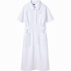 【WHISEL(ホワイセル)】ワンピース(白衣)ホワイト WH10300