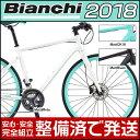 【先行予約受付中】ビアンキ 2018年モデル ROMA 2(ローマ2)【クロスバイク】【Bianchi】